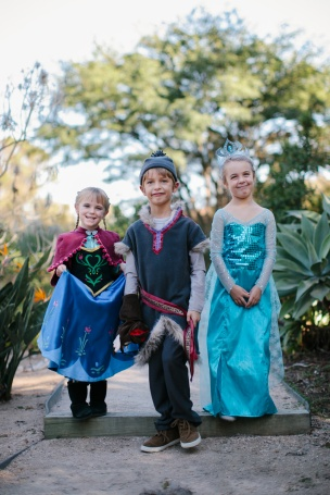 Frozen Family costumes 2015