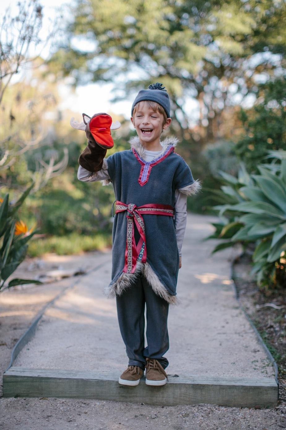 Kristoff Frozen children's halloween costume