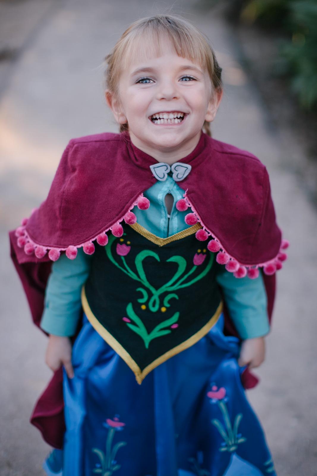 Anna frozen children's halloween costume