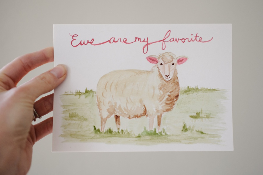 watercolor-valentine-ewe-are-my-favorite-2