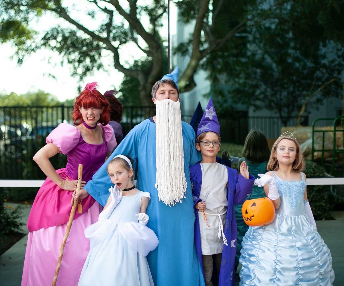 Family Cinderella costumes